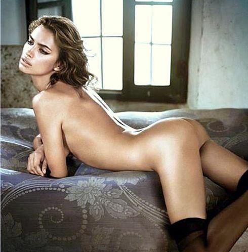 Irina Shayk Controversial Photo Picture Magazine Cover Naked.