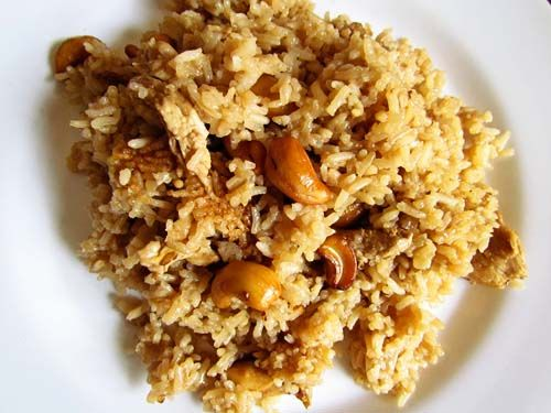 Chicken and Cashew Rice | Recipes to Try | Pinterest