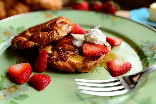 Croissant French Toast - By Pioneer Woman Ree Drummond