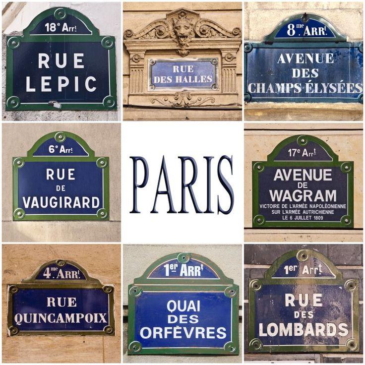 Ah, les très belles anciennes plaques de rue ... nostalgie quand tu nous tiens ....