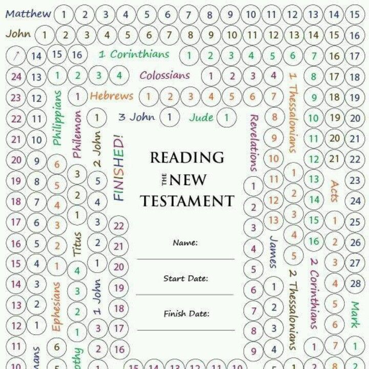 new testament bible reading plan pdf