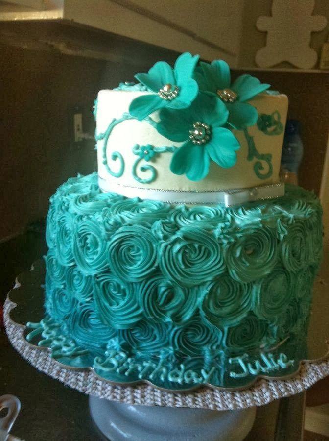 Images Of Blue Birthday Cake : Birthday Cakes. KAKE Pinterest