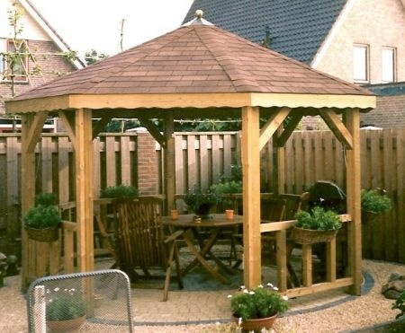 Prieel garden pinterest - Prieel tuin ...