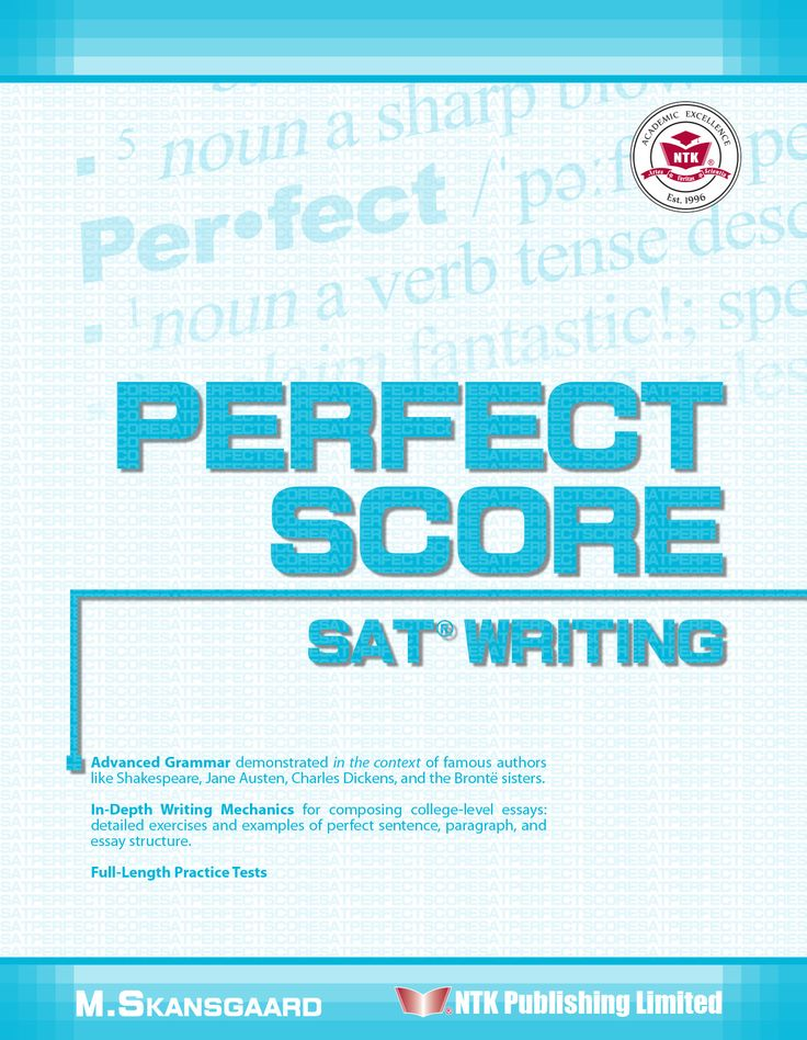 English composition essay score sat