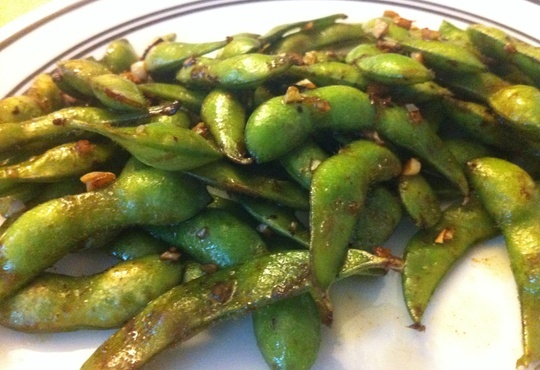 How to Cook Butter and Garlic Edamame | Recipe