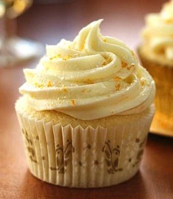 Mimosa Cupcakes | Cakes | Pinterest