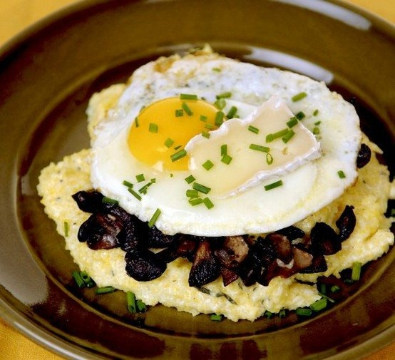 Creamy Polenta With Forest Mushrooms. | Delicious. | Pinterest
