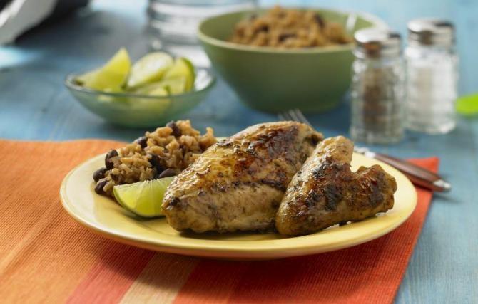 Caribbean Chicken | Summertime Eats | Pinterest