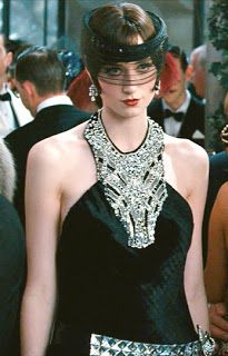 The Great Gatsby (Jordan black dress)