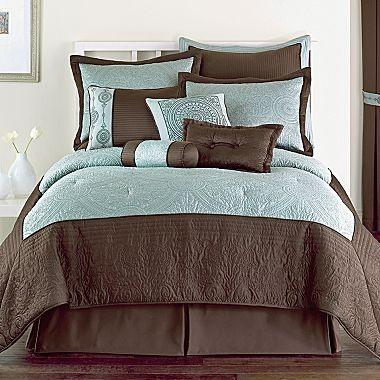 Celina 10pc Bedding Comforter Set Jcpenney Curtains Roman Shades Pinterest