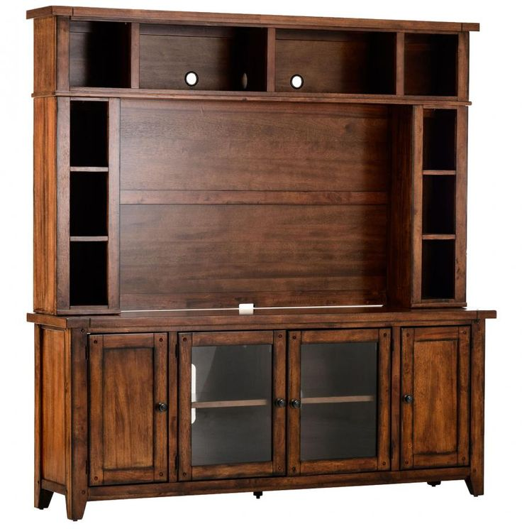 Media console and hutch living room pinterest for Living room hutch