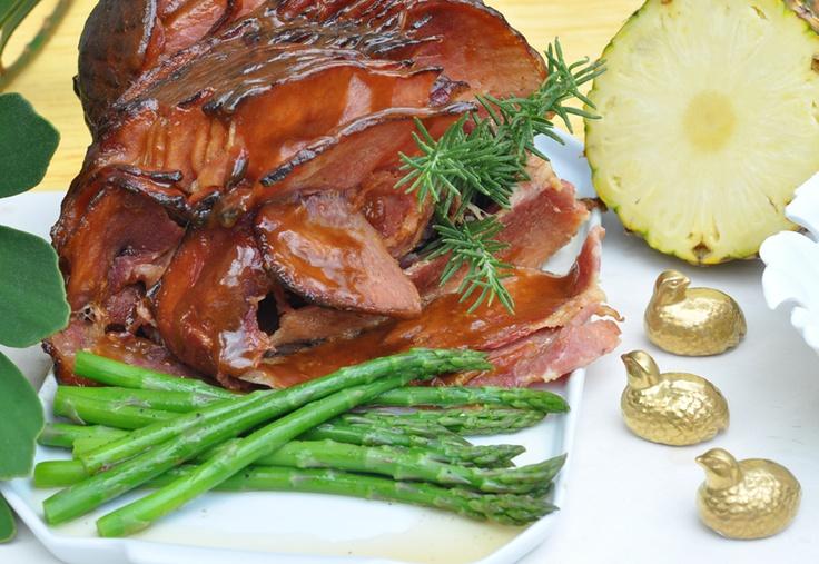 American-style Brown-Sugar-Glazed Holiday Ham Recipes — Dishmaps