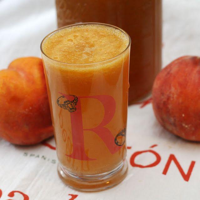 Coconut & Lime // Rachel Rappaport: Peach Thyme Shrub
