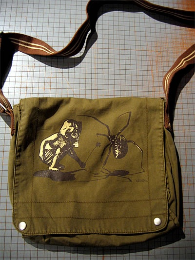 www.bedoshirts.com    This is a really cool purse: bEDO Army Bag.