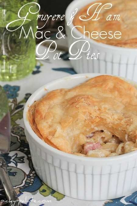 mac and cheese pot pies | I'd be skinny if this food didn't look so g...