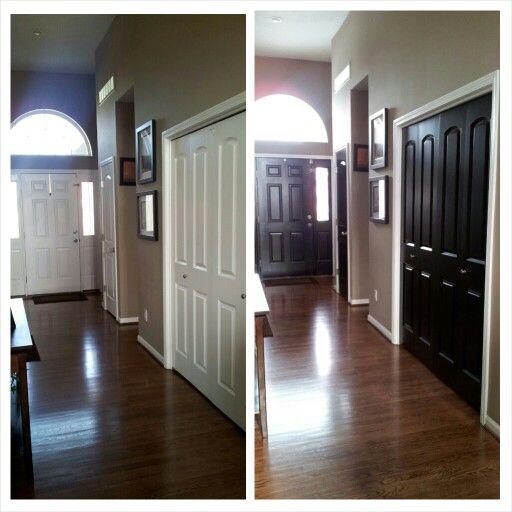 Black interior doors house inspiration pinterest - Sophisticated black interior doors ...