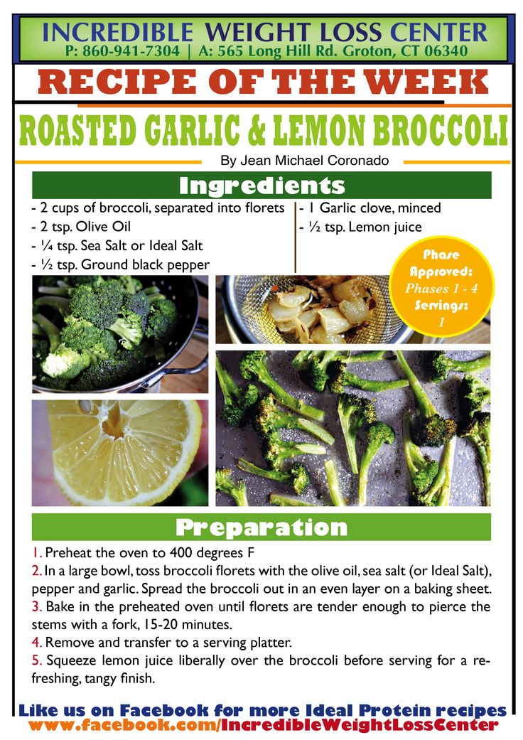 Delicious Roasted Garlic & Lemon Broccoli! This is a great alternative ...
