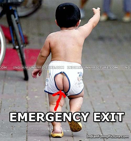 Emergency exit signs kids baby funny amazing pinterest