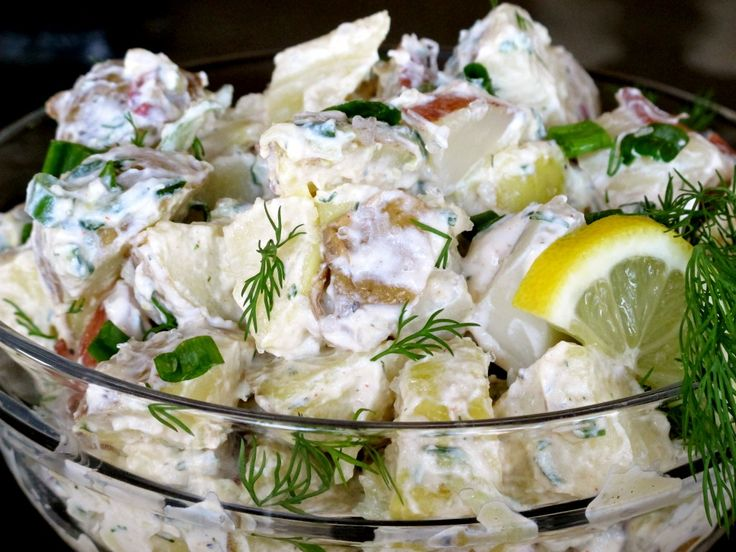 Gluten Free Earth Family Tzatziki Potato Salad