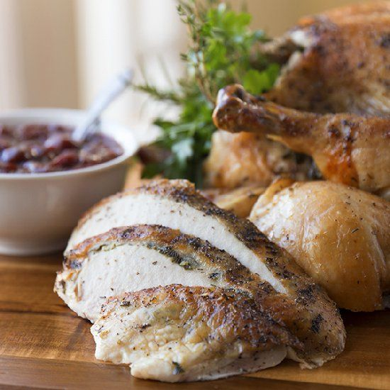 "Fair"" Roasted Christmas Chicken with Parsley, Sage, Rosemary & Thyme ..."