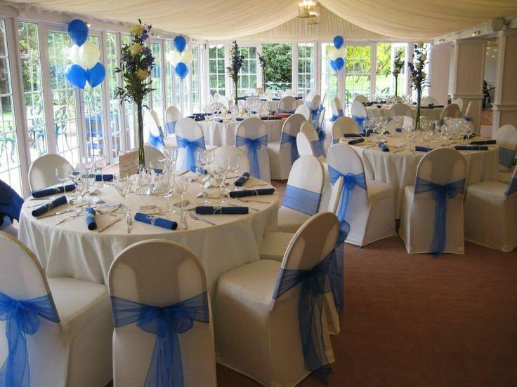 royal blue wedding decor ideas boda minerva pinterest