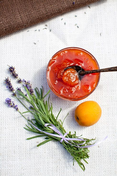 Apricot Jam with Lavender at Cooking Melangery