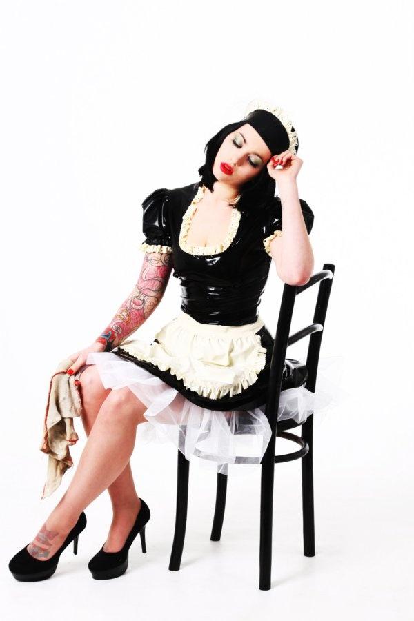 French maid latex
