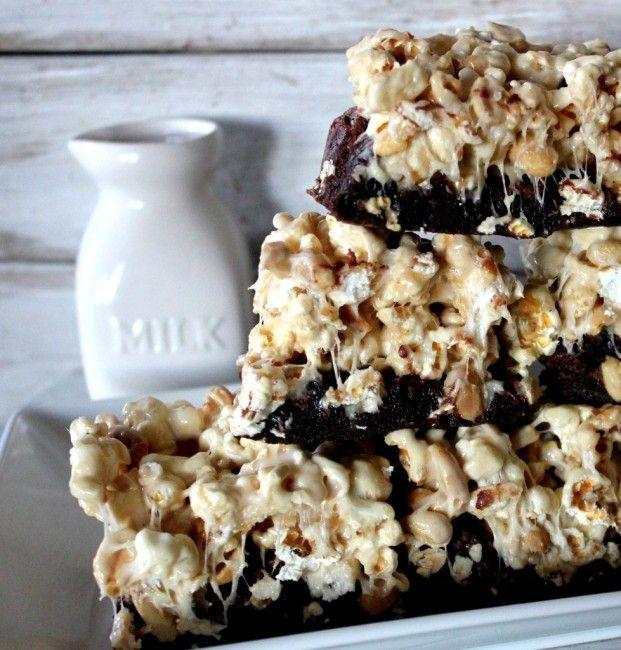 Stadium Brownies! | Oh Bite It | yum yum yum | Pinterest