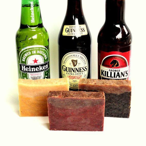 Christmas Gift for Men Homemade Beer Soap Gift Wedding Fathers Day  Homemade Christmas Gifts For Guy
