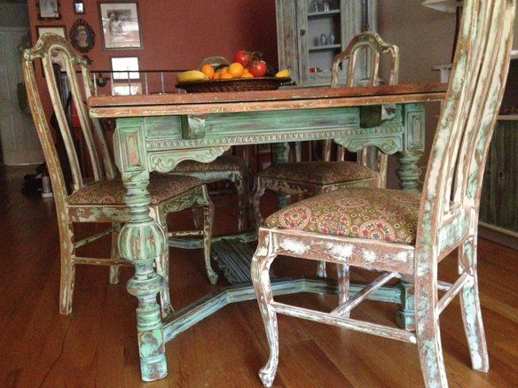 Shabby chic dining table - Shabby chic dining table sets ...