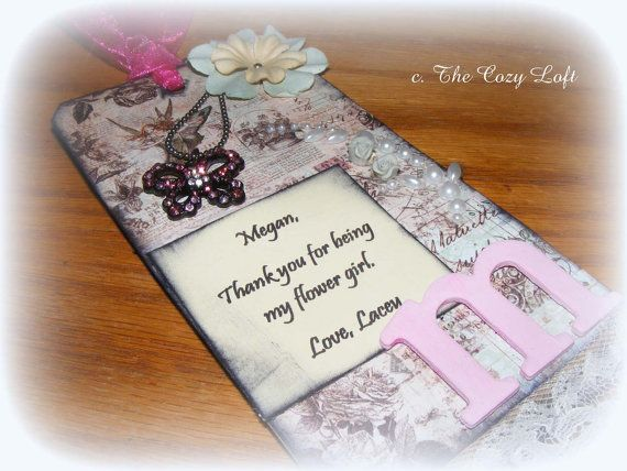 Wedding Flower Girl Thank You Gift Wedding Bliss Pinterest