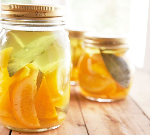 Preserved Lemons. You'll find the recipe here http://www.annabel ...