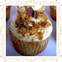 Peanut Butter and Banana Cupcakes | Sweet escape | Pinterest