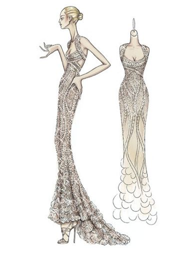 atelier versace | fashion sketches from now | Pinterest