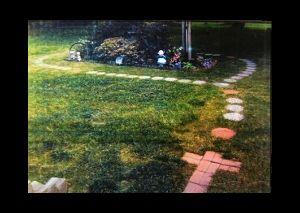 Rosary for the yard garden pinterest for Rosary garden designs