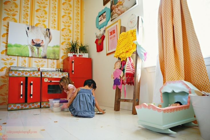 love this little girls room! via Under The Sycamore
