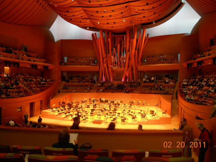 Walt Disney Concert Hall  InteriorWalt Disney Concert Hall Interior