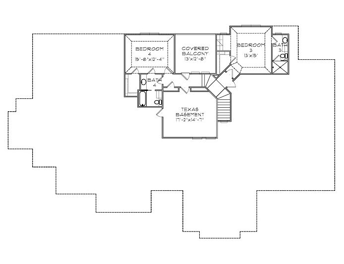 French Country Home 2nd Level Custom Home Plans And