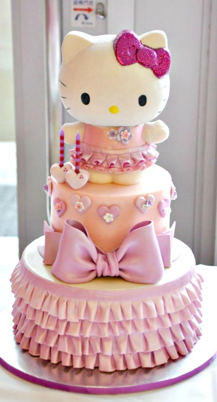 Cake Design Hello Kitty : Hello Kitty Cake Cake Design Pinterest