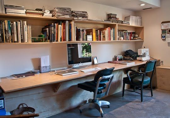 Pin by sara watson on ideas for work support groups - Long office desk ...
