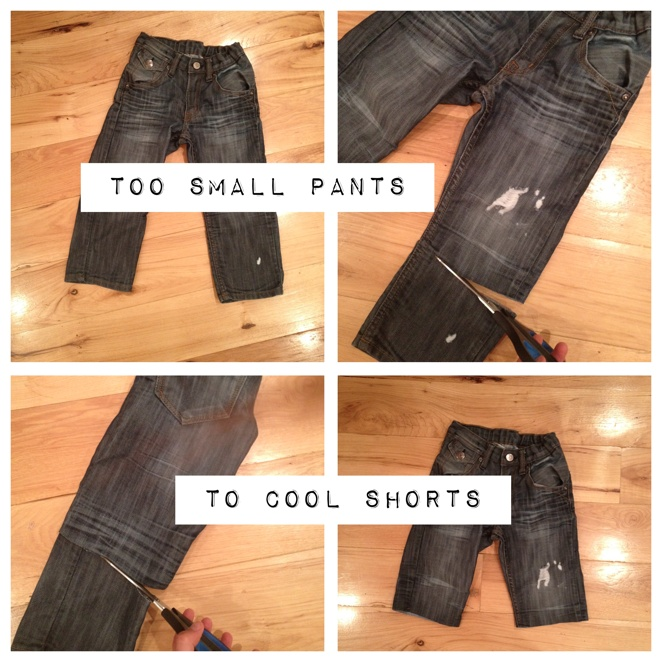 pants + shorts = shants  here's how to make em: Kandeeland