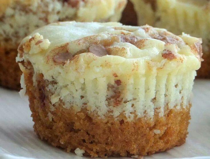 Mini pumpkin cheesecakes | Favorite Recipes | Pinterest