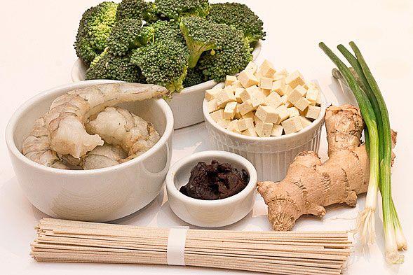 Seafood Miso Noodle Soup Recipe — Dishmaps