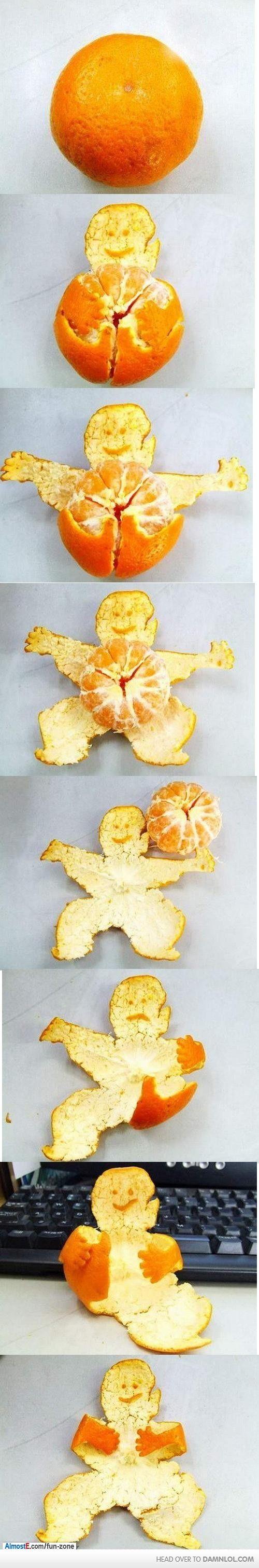 Forever An Orange Skin