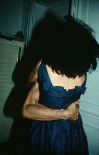 Nan Goldin, The Hug, NYC, 1980, cibachrome, 40 x 30 inches