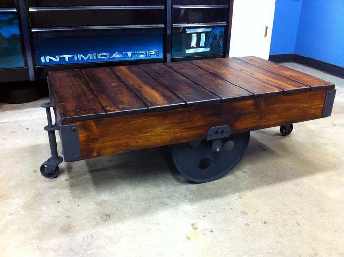WarehouseCart Meubles Fabrication Recyclage Pinterest