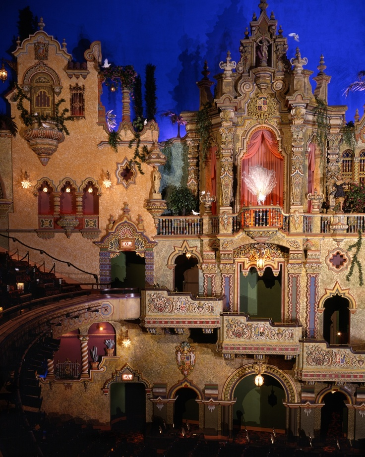 Majestic Theater; San Antonio, Texas – just a magical place, here I've seen ever