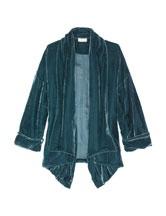 silk velvet kimono jacket from Toast.