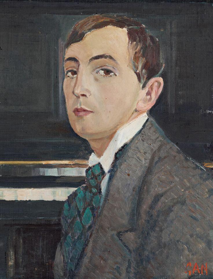 Självporträtt self portrait 1908 by gan