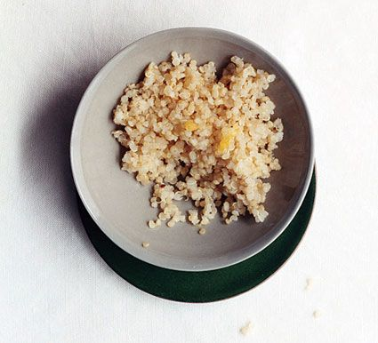 Lemon-Scented Quinoa [add a bunch of herbs/spices]